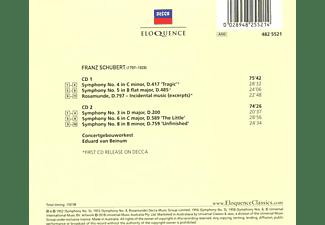 Concertgebouworkest - van Beinum dirigiert Schubert  - (CD)