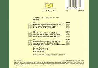 Berliner Motettenchor, Berliner Philharmoniker - Neun geistliche Kantaten  - (CD)