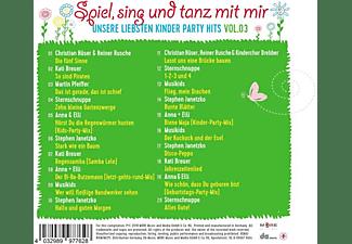 VARIOUS - Spiel,Sing Und Tanz Mit Mir Vol.3-Unsere Liebsten  - (CD)