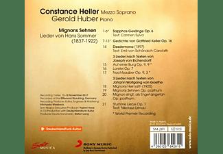 Constance Heller - Mignons Sehnen-Lieder von Hans Sommer  - (CD)