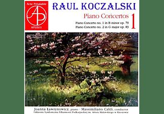 Joanna Lawrynowicz, Orkiestra Symfoniczna Filharmonii Podkarpackiej - Klavierkonzerte  - (CD)
