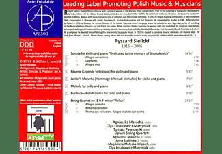 Marucha, Tomasz Pawlowski, Opium String Quartet - Kammermusik  - (CD)