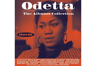Odetta - The Albums Collection 1954-62  - (CD)