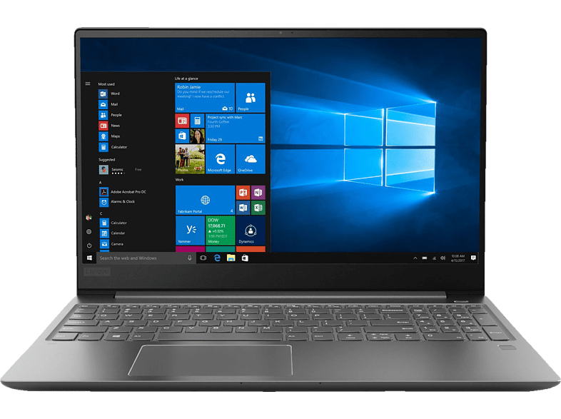 LENOVO IdeaPad 720S, Notebook mit 15.6 Zoll Display, Core i7 Prozessor, 16 GB RAM, 512 GB SSD, GeForce® GTX 1050 Ti, Iron Grey