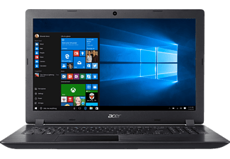 "ACER Aspire 3  NX.GY3EU.005 fekete laptop(15,6"" HD/Celeron/4GB/500 GB HDD/Win10H)"