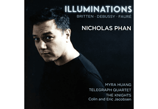 Phan/Huang/Jacobsen/Telegraph Quartet/+ - Illuminations  - (CD)