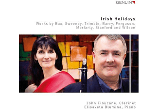 John Finucane, Elisaveta Blumina - Irish Holiday-Werke für Klarinette & Piano  - (CD)
