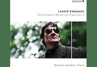 Michael Schäfer - Die Werke für Klavier Vol.2  - (CD)