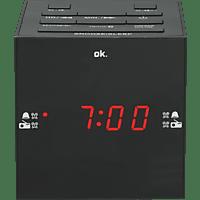 OK. OCR 420BT-B Radio-Wecker, FM, FM, BluetoothJa, Schwarz