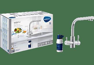BRITA 059828 WD 3020 Küchenarmatur mit integrierter Filterkartusche, Chrom glänzend