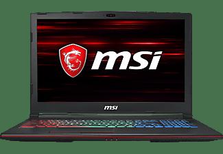 MSI GP63 8RE-223DE Leopard, Gaming Notebook mit 15,6 Zoll Display, Core i7 Prozessor, 16 GB RAM, 256 GB SSD, 1 TB HDD, GeForce® GTX 1060, Schwarz