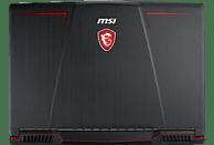 MSI GP63 8RE-223DE Leopard, Gaming Notebook mit 15.6 Zoll Display, Core i7 Prozessor, 16 GB RAM, 256 GB SSD, 1 TB HDD, GeForce® GTX 1060, Schwarz