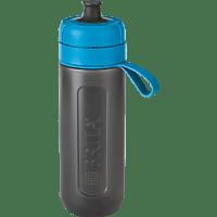 BRITA fill&go Active Trinkflasche, Blau/Grau