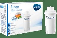 BRITA 020538 Classic Pack 3 Filterkartusche, Weiß