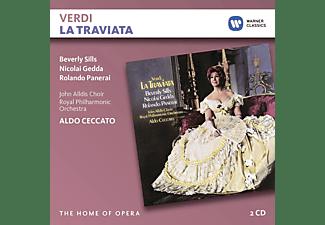 Nicolai Gedda, Rolando Panerai, John Alldis Choir, Royal Philharmonic Orchestra, Aldo Ceccatto, Sills Beverly - La Traviata  - (CD)