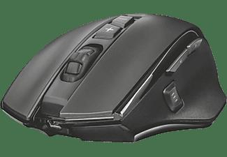 TRUST GXT 140 Manx Gaming Maus, Schwarz