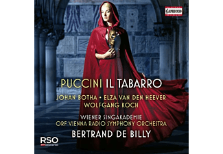 De Billy/Botha/Van D - Il Tabarro  - (CD)