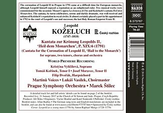 Kristyna Vylicilova, Tomas Korinek, Josef Moravec, Filip Dvořák, Prague Symphony Orchestra, Martinu Voices - Kantata zur Krönung Leopolds II  - (CD)