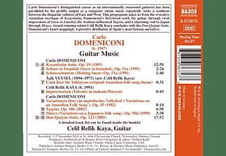 Celil Refik Kaya - Gitarrenmusik  - (CD)