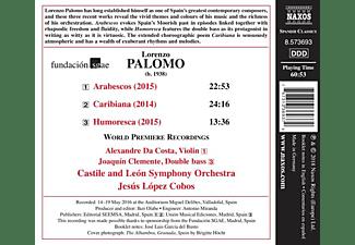 Jesus Lopez Cobos - Arabescos/Caribiana/Humoresca  - (CD)