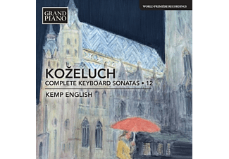 English Kemp - Sämtliche Klaviersonaten Vol.12  - (CD)