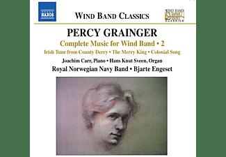 George Percy Grainger - Sämtliche Werke für Blasorchester Vol.2  - (CD)