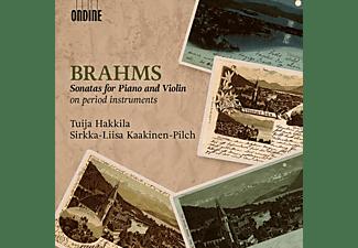 Hakkila/Kaakinen-Pil - Sonaten für Klavier und Violine  - (CD)