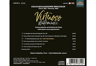 Balzaretti Carbotta - Virtuose Flötenmusik  - (CD)