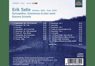 Giacomo Scinardo - Gymnopédies/Gnossiennes/+  - (CD)