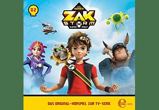 Zak Storm - 002 - HEXE ÜBER BORD HÖRSPIEL ZUR SERIE  - (CD)