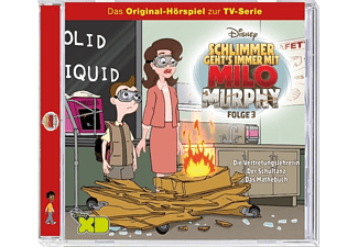 Disney/Milo Murphy - Folge 3: Die Vertretungslehrerin  - (CD)