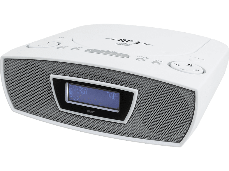 SOUNDMASTER URD480WE CD-Radio (Digital, DAB+, UKW, Weiß)