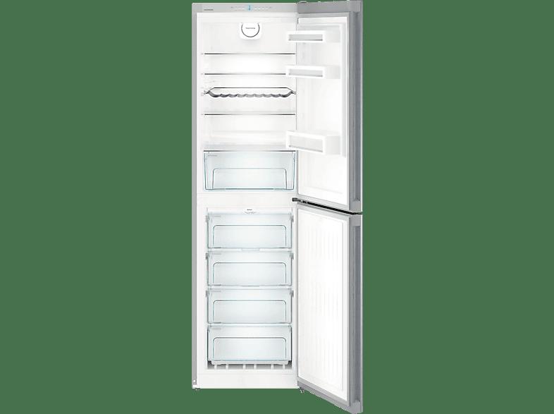 LIEBHERR CNel 4713  Kühlgefrierkombination (A++, 264 kWh/Jahr, 2011 mm hoch, Edelstahl/Silber)