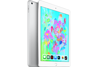 "APPLE iPad 9.7"" (2018) 4G 128GB Surfplatta - Silver (MR732KN/A)"