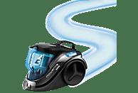 ROWENTA RO3731EA Compact Power Cyclonic, Staubsauger ohne Beutel, Schwarz/Blau