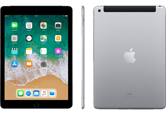 APPLE iPad (2018), Tablet, 32 GB, 9,7 Zoll, Space Grau