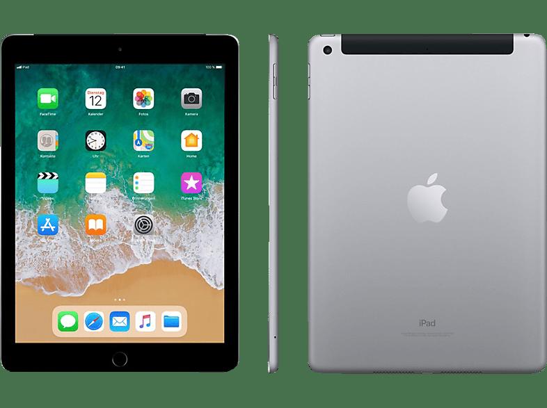 APPLE iPad (2018), Tablet , 32 GB, 9.7 Zoll, Space Grau