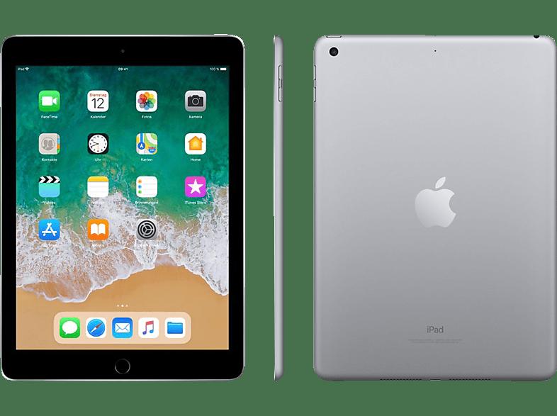 APPLE iPad (2018), Tablet , 32 GB, 9.7 Zoll, Space Grey