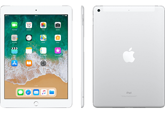 APPLE iPad (2018), Tablet, 128 GB, 9.7 Zoll, iOS 11, Silver