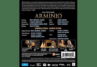 Petrou/Cencic/Petron - Arminio  - (Blu-ray)