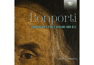 Armonici Labirinti - Sonatas op.2 For 2 Violins And B.C. - (CD)