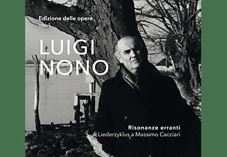 ENS.PROMETEO - EXPERIM.STUDIO - Risonanze Erranti-Liederzyklus  - (SACD Hybrid)