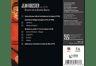 Thérèse-Marie Gilissen, Anne Leonardo, Quatuor Gong, Orchestre Royal De Chambre De Wallonie, Pecs Symphony Orchestra - Oeuvres De La Grande Guerre  - (CD)
