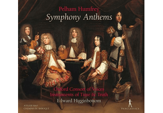 Higginbottom/Oxford Consort of Voices/Instr.of Ti - Symphony Anthems  - (CD)