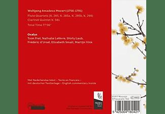 Oxalys - Flötenquartette/Klarinettenquintett  - (CD)