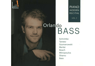 Orlando Bass - Orlando Bass,Klavier  - (CD)