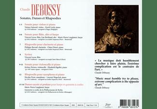 Lucas/Samouil/Prost/Pernoo/Langlamet/Lively/+ - Sonaten,Tänze und Rhapsodien  - (CD)