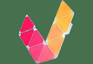 NANOLEAF NL28-2002TW-9PK Aurora Rhythm Smarter Kit LED-Panel Weiß, mehrfarbig