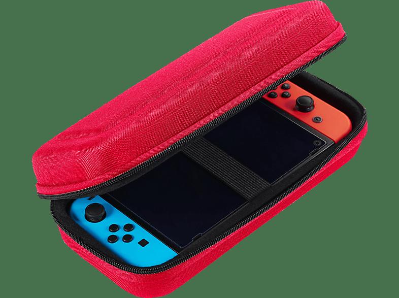 BIGBEN HARTSCHALENTASCHE Switch™ Nintendo Switch Tasche, Rot