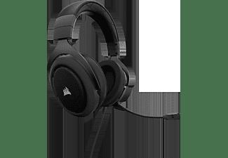 CORSAIR HS60 7.1, On-ear Gaming Headset Carbon